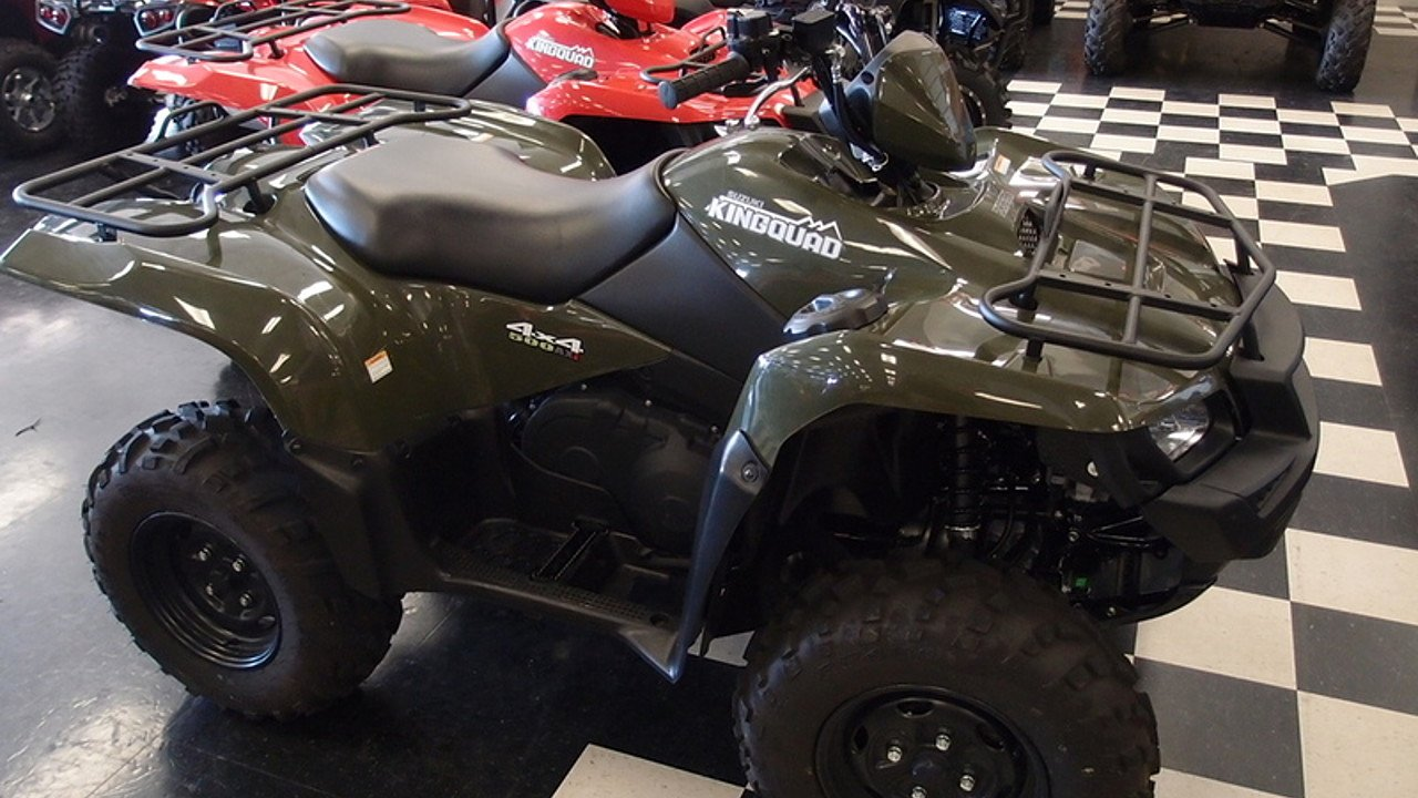 2018 Suzuki KingQuad 500 for sale 200484449