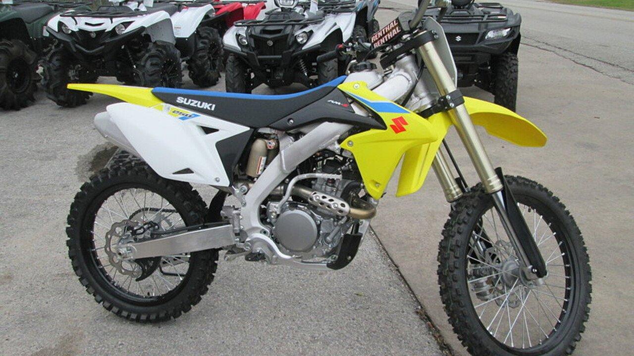 2018 Suzuki RM-Z250 for sale 200584438