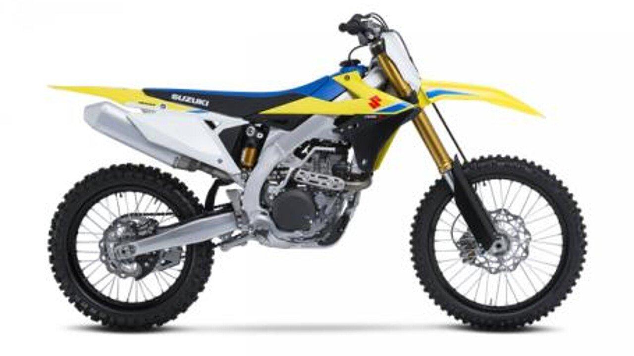 2018 Suzuki RM-Z450 for sale 200584893