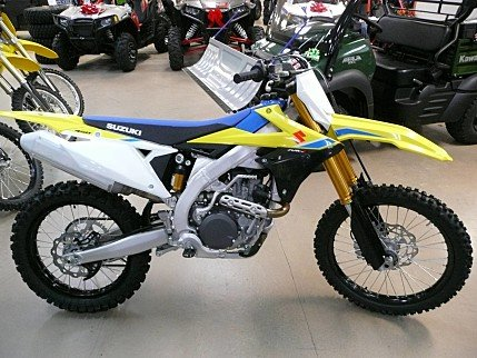 2018 Suzuki RM-Z450 for sale 200502942