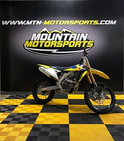 2018 Suzuki RM-Z450 for sale 200540594