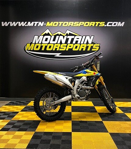 2018 Suzuki RM-Z450 for sale 200587214