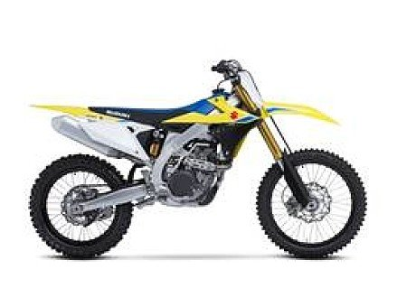 2018 Suzuki RM-Z450 for sale 200625108