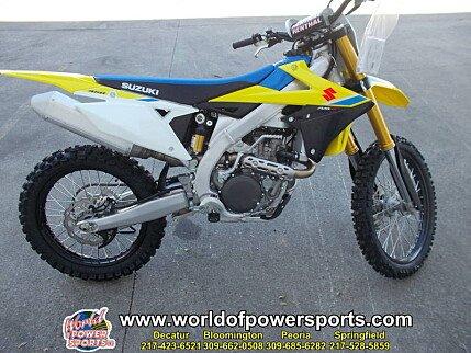 2018 Suzuki RM-Z450 for sale 200636878