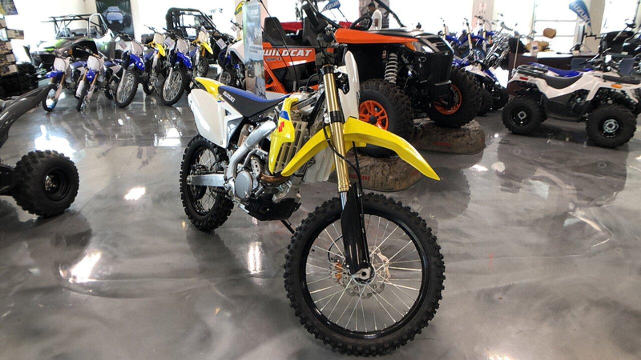 2018 Suzuki RMX450Z for sale 200564194