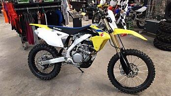 2018 Suzuki RMX450Z for sale 200598230