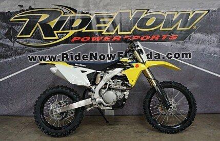 2018 Suzuki RMX450Z for sale 200589577