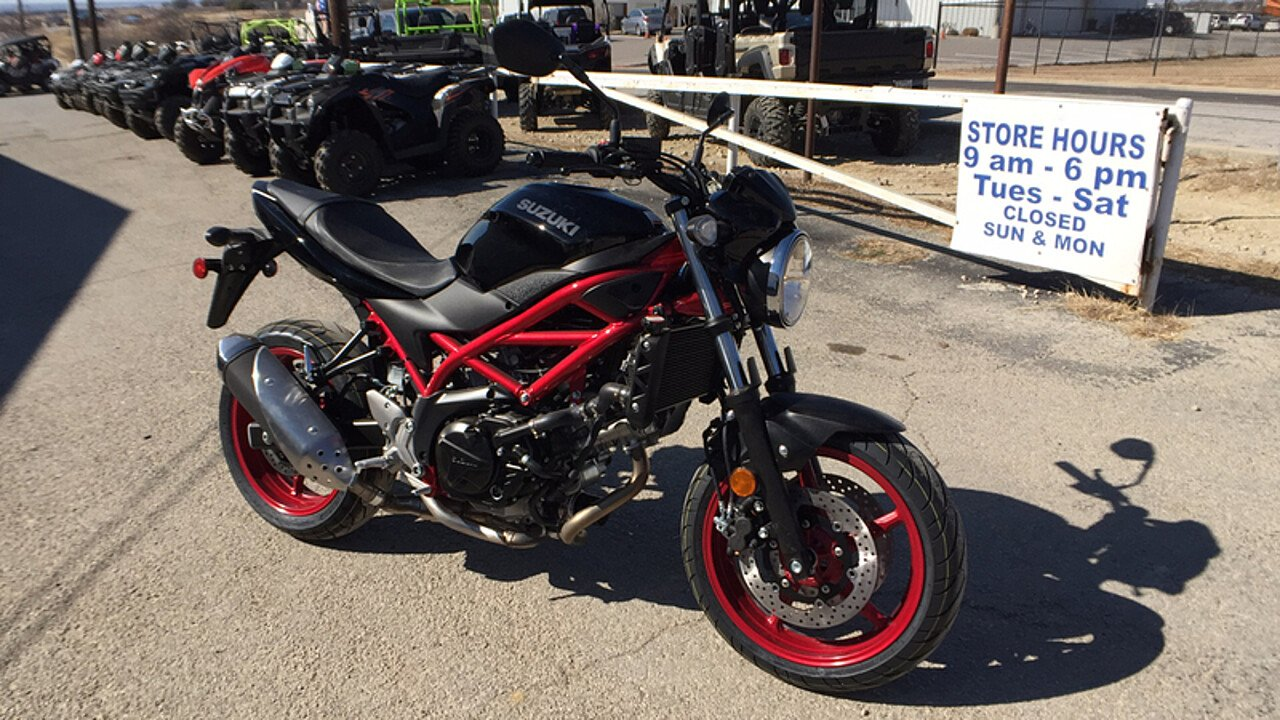 2018 Suzuki SV650 for sale 200534467