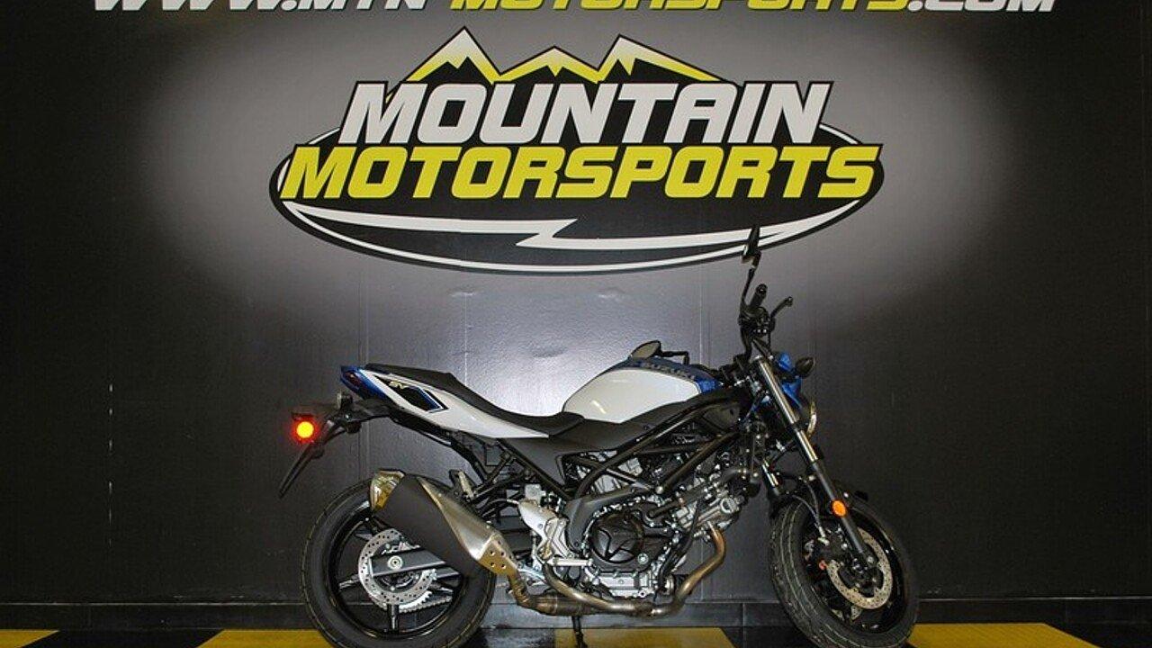 2018 Suzuki SV650 for sale 200544074