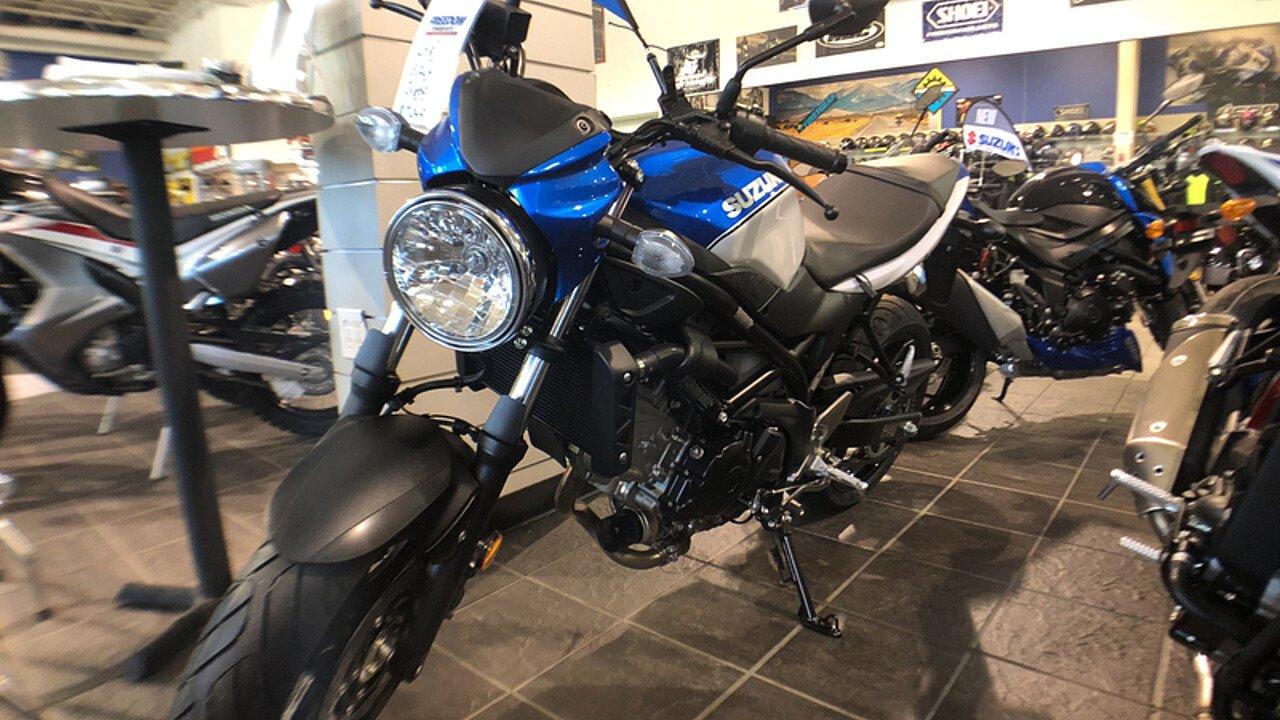 2018 Suzuki SV650 for sale 200544314