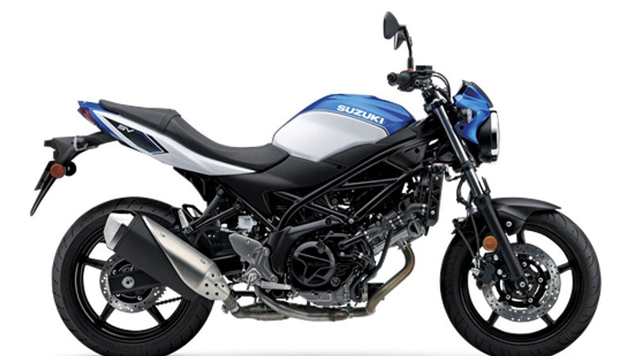 2018 Suzuki SV650 for sale 200599580