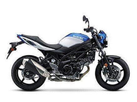2018 Suzuki SV650 for sale 200543630