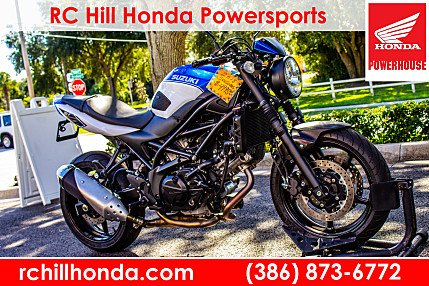 2018 Suzuki SV650 for sale 200648526