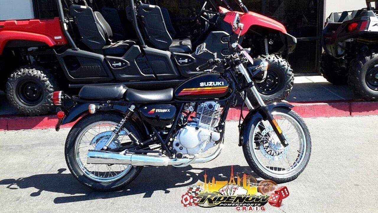 2018 Suzuki TU250X for sale 200570930