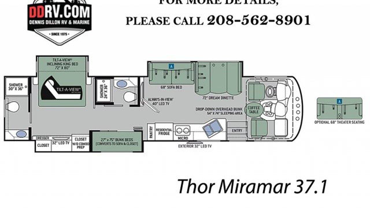 2018 Thor Miramar For Sale Near Boise Idaho 83709 Rvs On Autotrader Motorhome Wiring Diagram 300153238