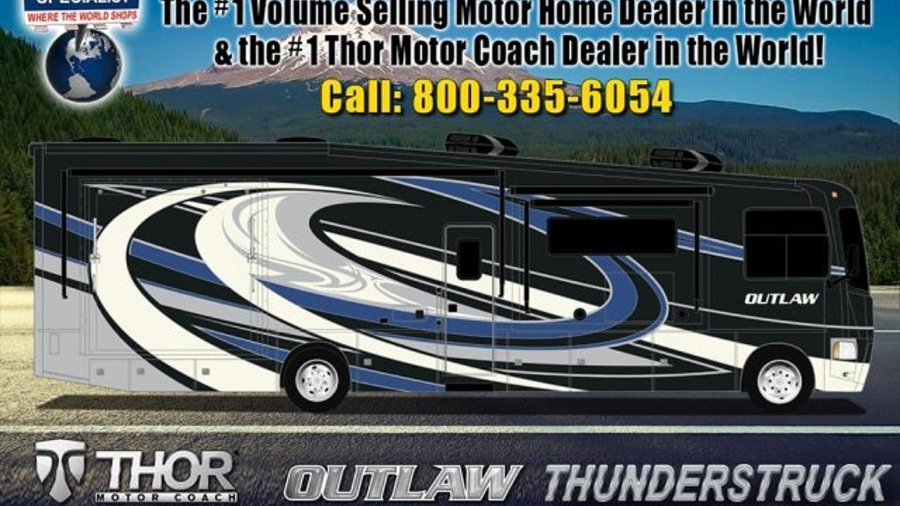 2018 Thor Outlaw 37BG for sale 300131956