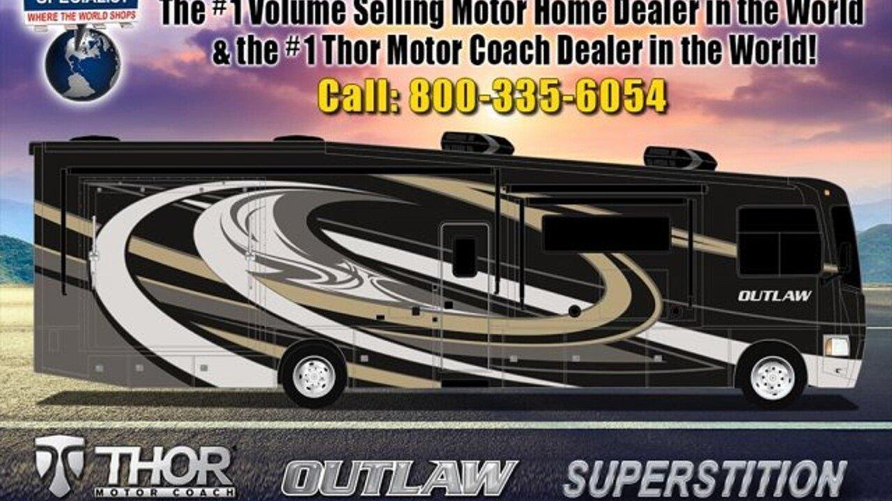 2018 Thor Outlaw 37BG for sale 300132028
