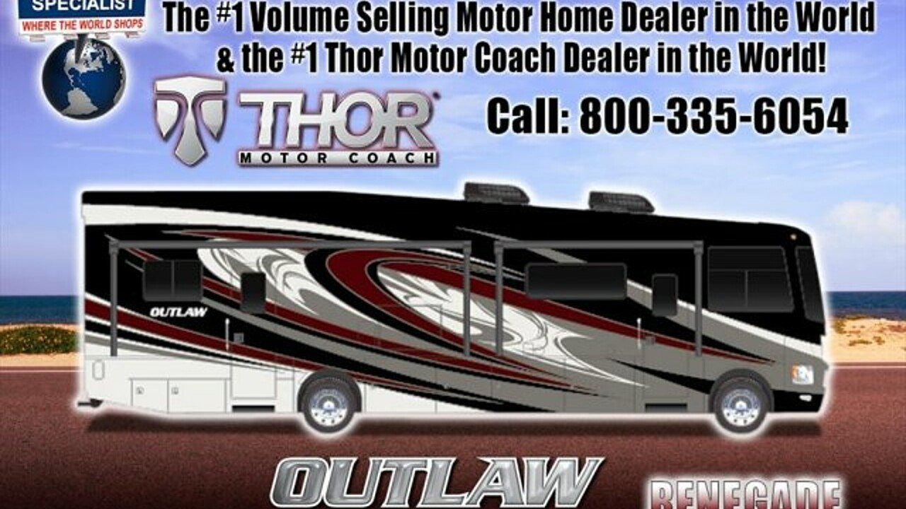 2018 Thor Outlaw 37RB for sale 300141248