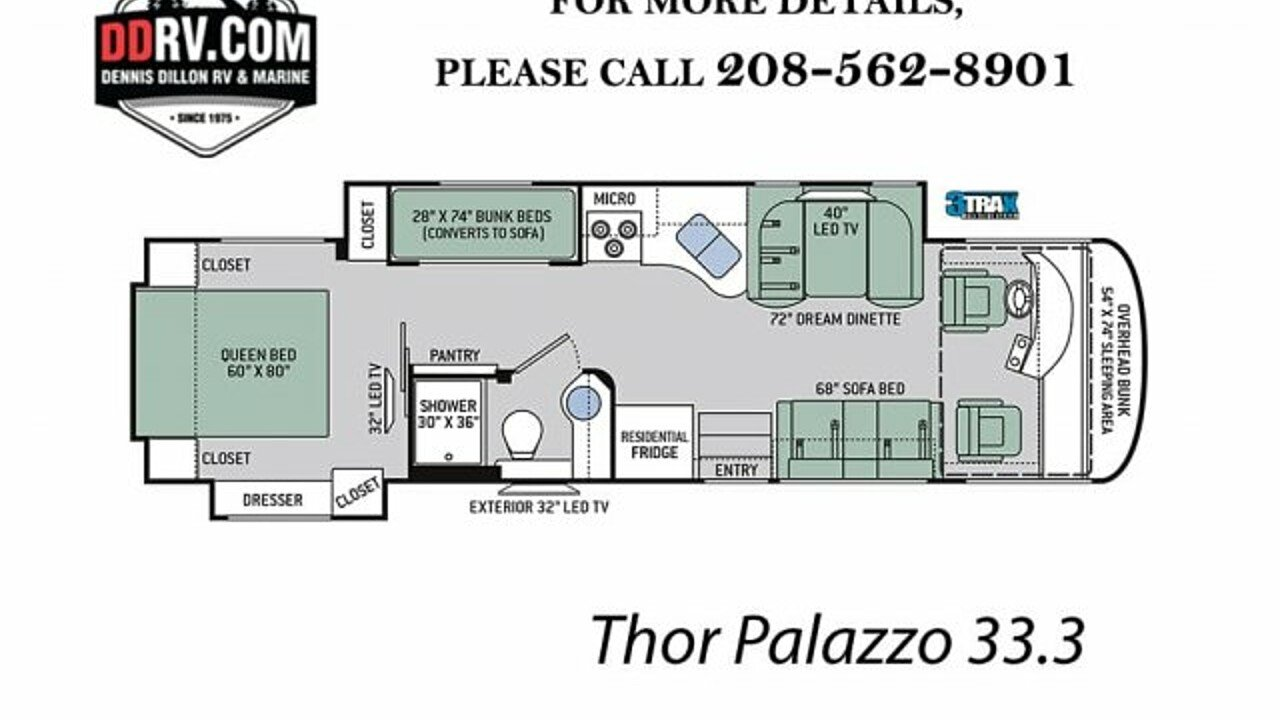 2018 Thor Palazzo for sale 300149618