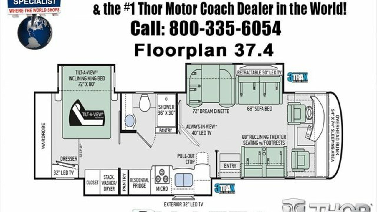 2018 Thor Palazzo for sale 300150150