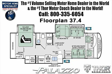 2018 Thor Palazzo for sale 300150151
