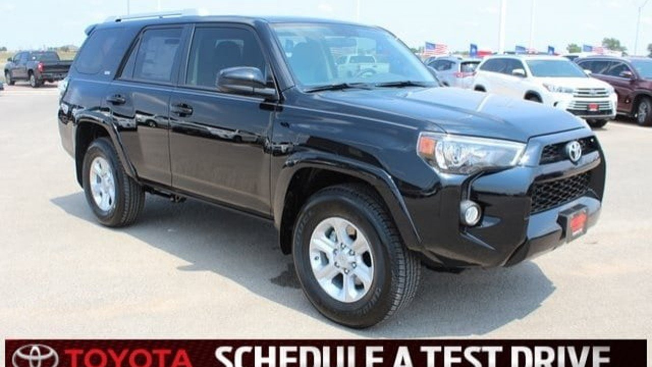 2018 Toyota 4Runner 2WD for sale 101009633