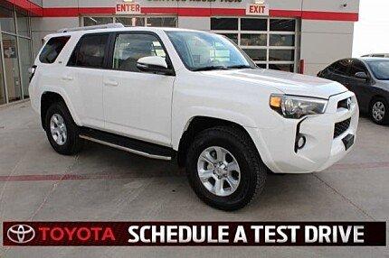 2018 Toyota 4Runner for sale 100974469