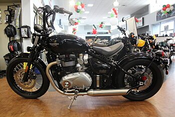 2018 Triumph Bonneville 1200 Bobber for sale 200499409