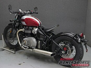2018 Triumph Bonneville 1200 Bobber for sale 200579567