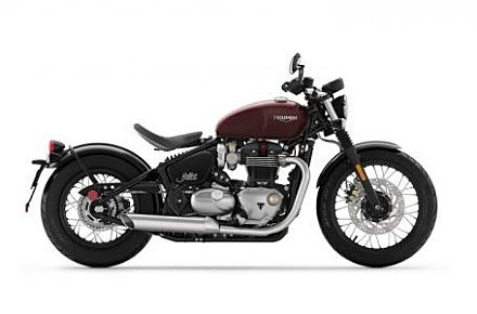 2018 Triumph Bonneville 1200 Bobber for sale 200522759
