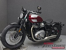 2018 Triumph Bonneville 1200 Bobber for sale 200579589