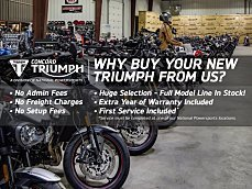 2018 Triumph Bonneville 900 T100 for sale 200579663