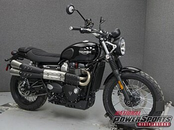 2018 Triumph Street Scrambler for sale 200579577