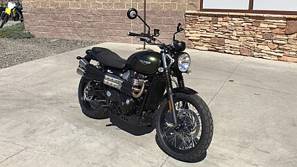 2018 Triumph Street Scrambler for sale 200579304