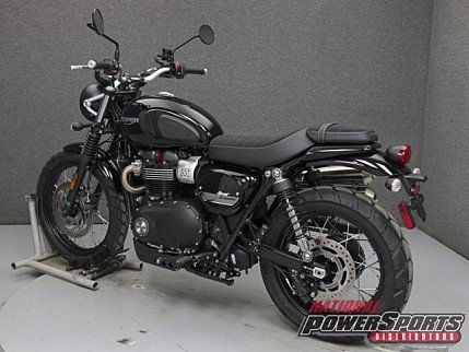 2018 Triumph Street Scrambler for sale 200579593