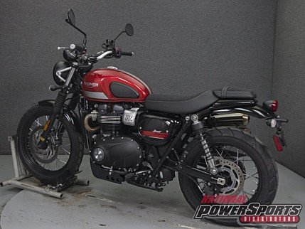 2018 Triumph Street Scrambler for sale 200602090