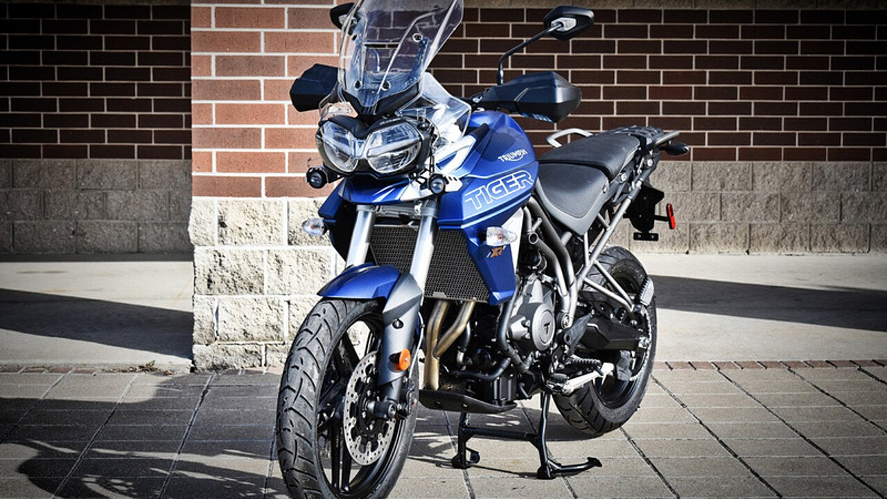 2018 triumph tiger 800 xrt for sale near olathe kansas. Black Bedroom Furniture Sets. Home Design Ideas