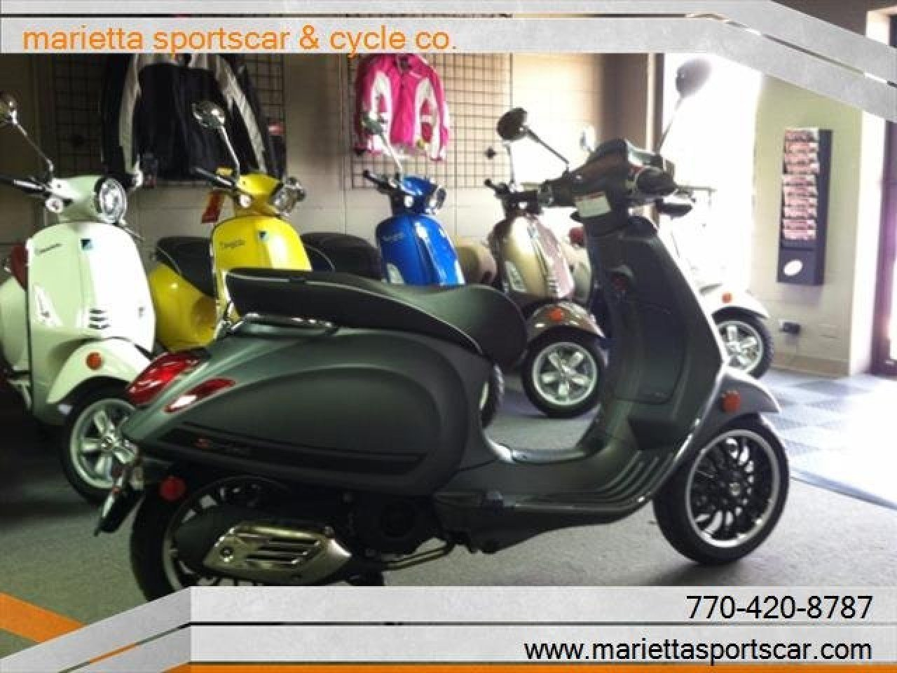 2018 Vespa Sprint 150 For Sale Near Marietta Georgia