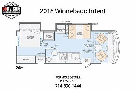 2018 Winnebago Intent for sale 300154128