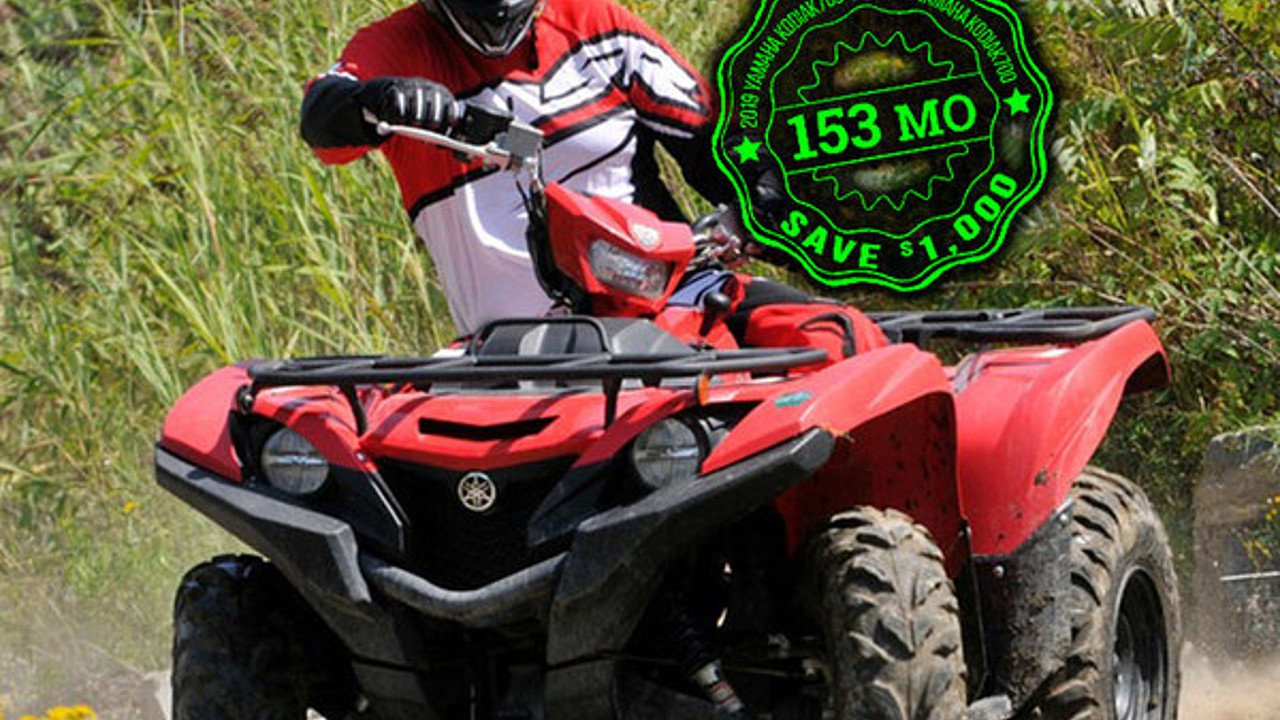 2018 Yamaha Kodiak 700 for sale 200584484