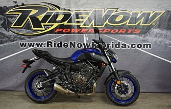 2018 Yamaha MT-07 for sale 200570397