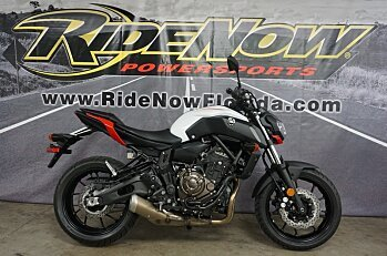 2018 Yamaha MT-07 for sale 200570476