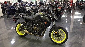 2018 Yamaha MT-07 for sale 200572236