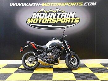 2018 Yamaha MT-07 for sale 200578170