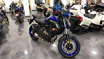 2018 Yamaha MT-07 for sale 200585616