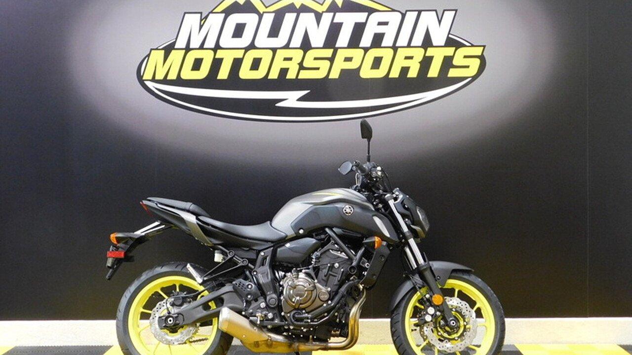 2018 Yamaha MT-07 for sale 200586735