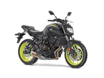 2018 Yamaha MT-07 for sale 200592016
