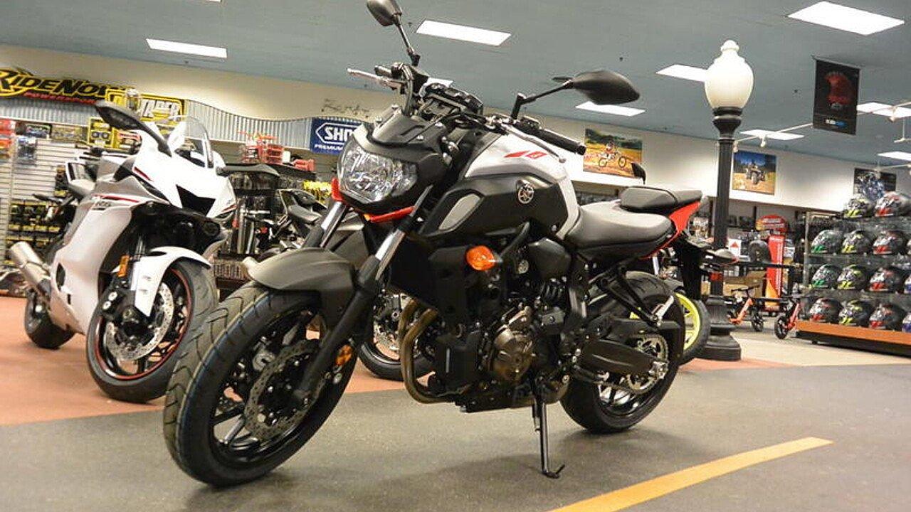 2018 Yamaha MT-07 for sale 200619693