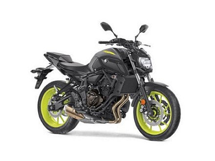 2018 Yamaha MT-07 for sale 200536112