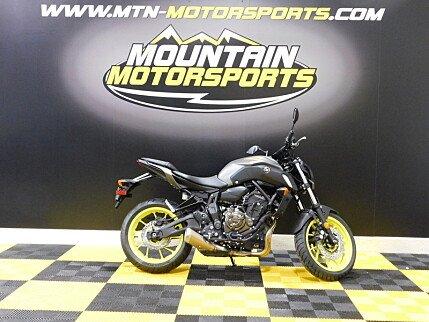 2018 Yamaha MT-07 for sale 200582486